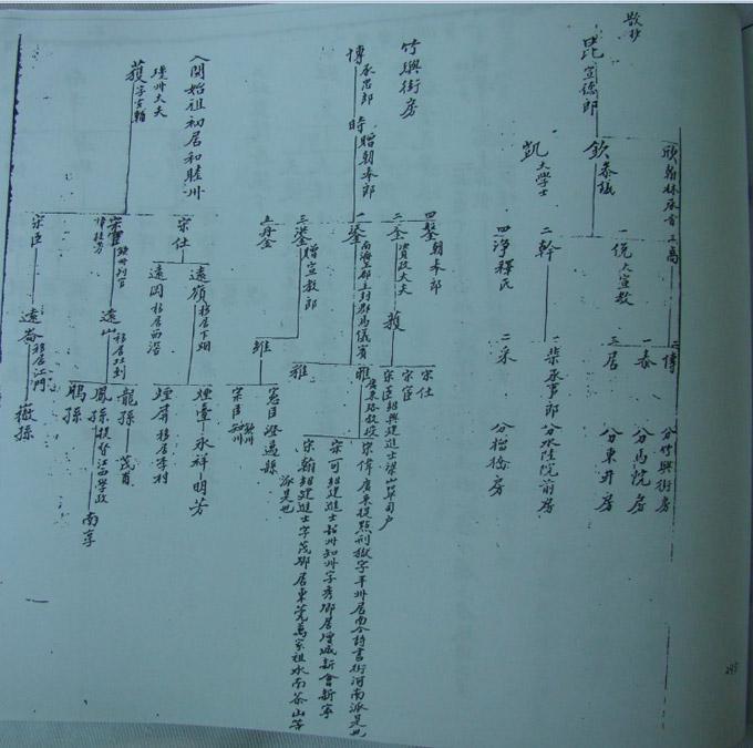 获公世系表,原载台山大岭林国赓题林氏族谱,光绪十八年(1892)重修本